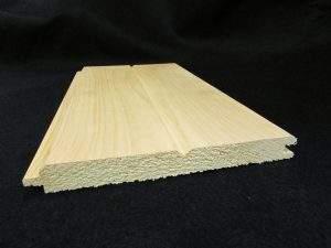 1x8 V Groove Wood