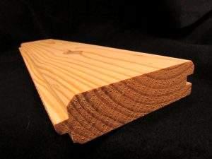 2x6 V Groove Wood