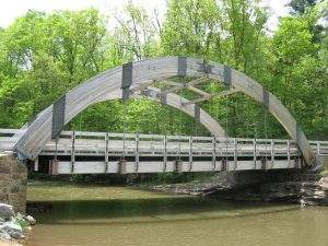 James Creek, PA Pedestrian and Public Bridge (1)
