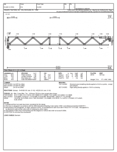 Floor Truss Design