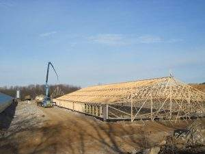 Richland, PA Commercial and Ag Trusses (1)