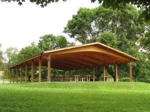 36' Span SYP Pavilion