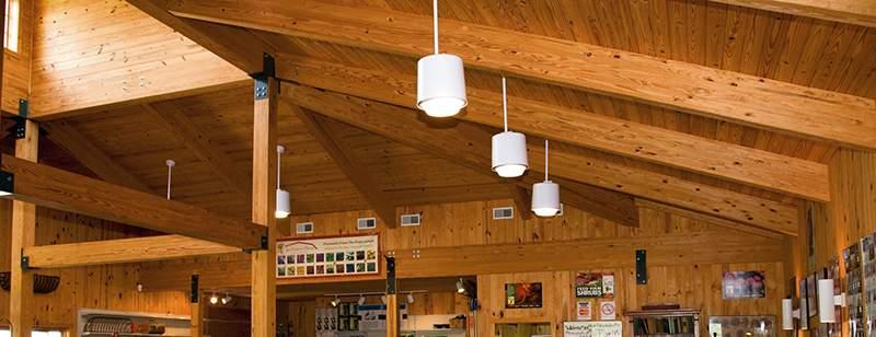 Laminated Beams And Glue Laminated Beams Rigidply Rafters