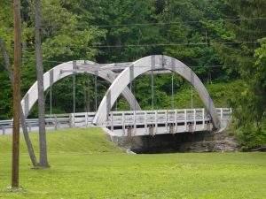 James Creek, PA Pedestrian and Public Bridges (3)