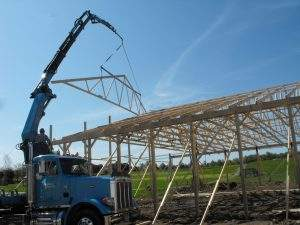 Parkesburg, PA Commercial and Ag Trusses (1)