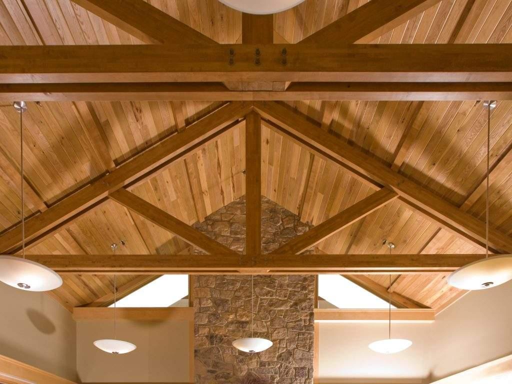 Howard Pa Heavy Timber Truss 1 Rigidply Rafters