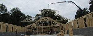 Manheim, PA Commercial Trusses Grid