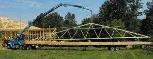 Oxford, PA Ag Trusses Grid