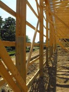 Oxford, PA Glulam Posts (3)