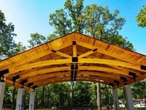 Palmerton, PA Heavy Timber Truss (2)