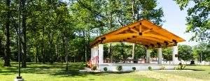 Palmerton, PA Heavy Timber Truss Grid